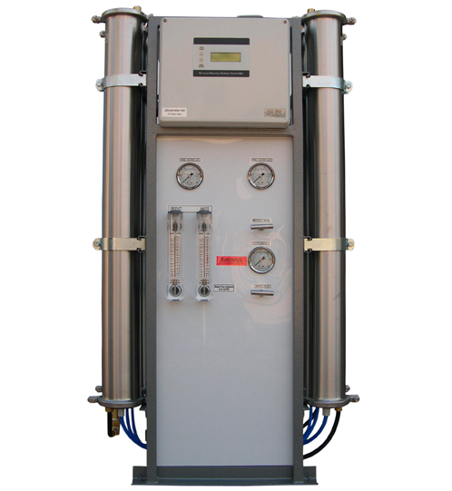 Frame mount commercial reverse osmosis system