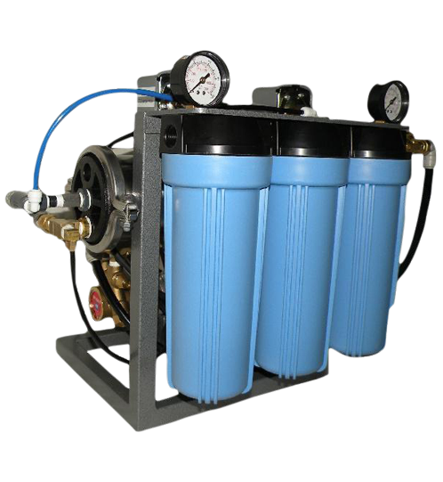 Compact commercial reverse osmosis system